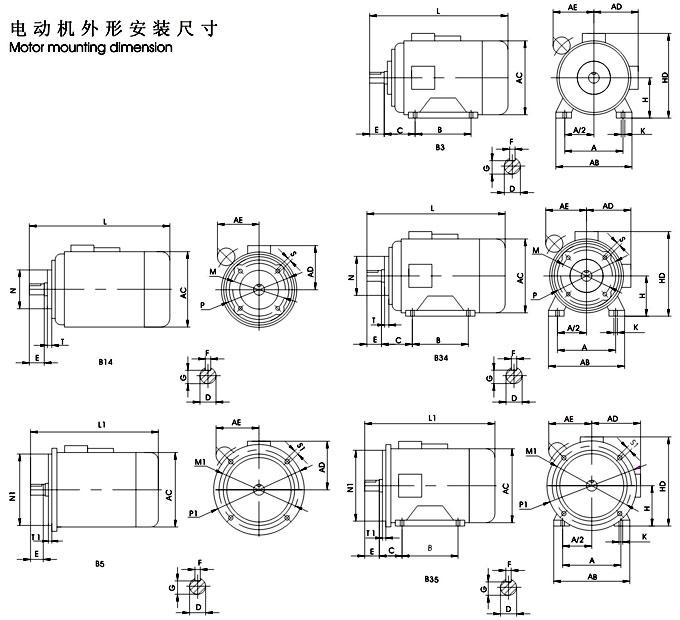 单三相电动机 - yy系列单相电容运转异步电动机